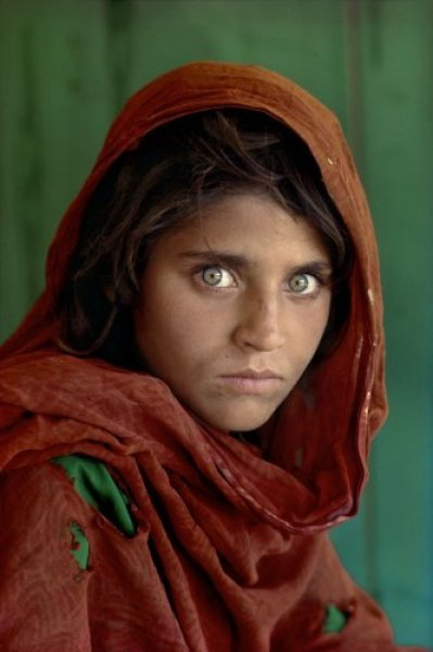 Afghan Girl at Nasir Bagh Refugee Camp