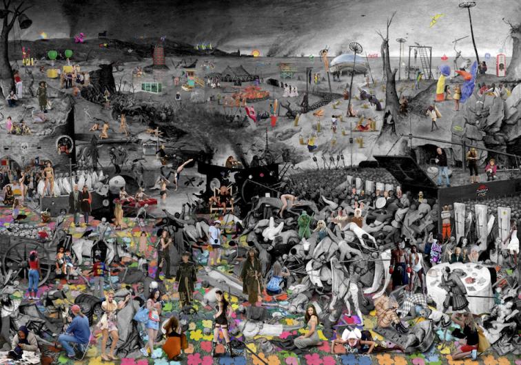 El Triumfo de la Muerta, Brueghel
