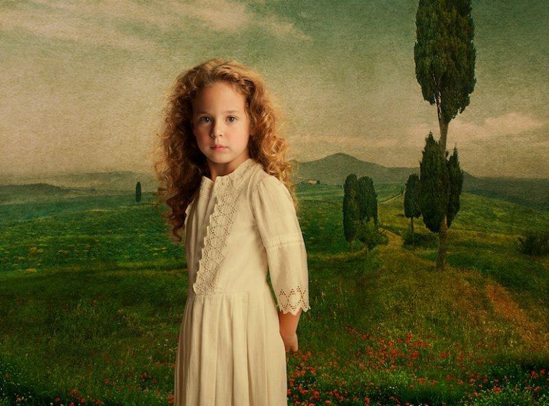 Jenna in Tuscany