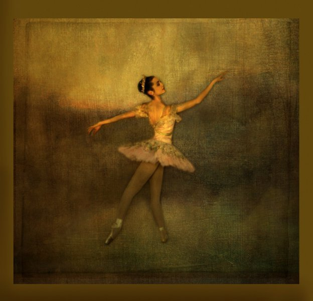 Painterly Ballerina